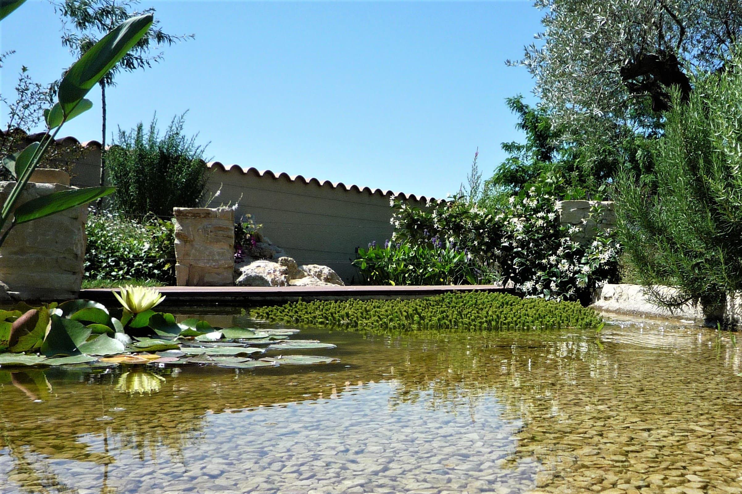 aménagement paysager bassin drôme