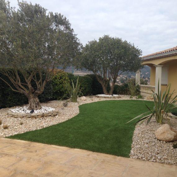 pelouse artificielle valence