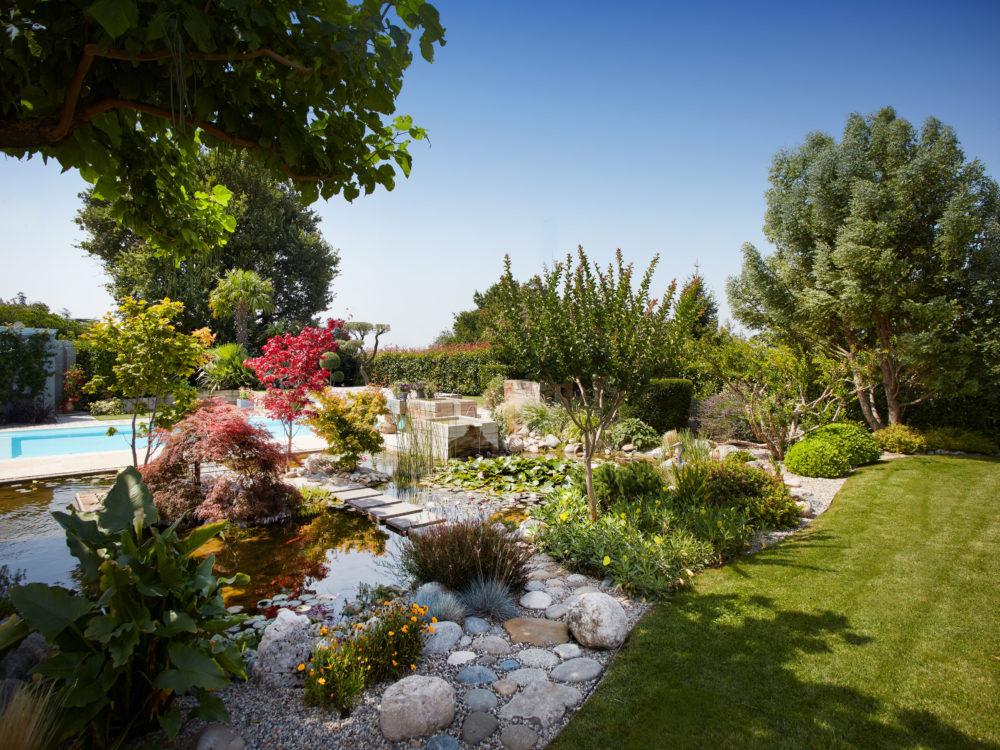jardin japonais à portes les valence - Cédric Pierre Paysage