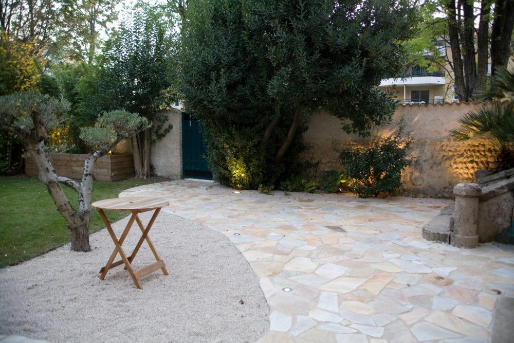 terrasse dallage drôme ardèche