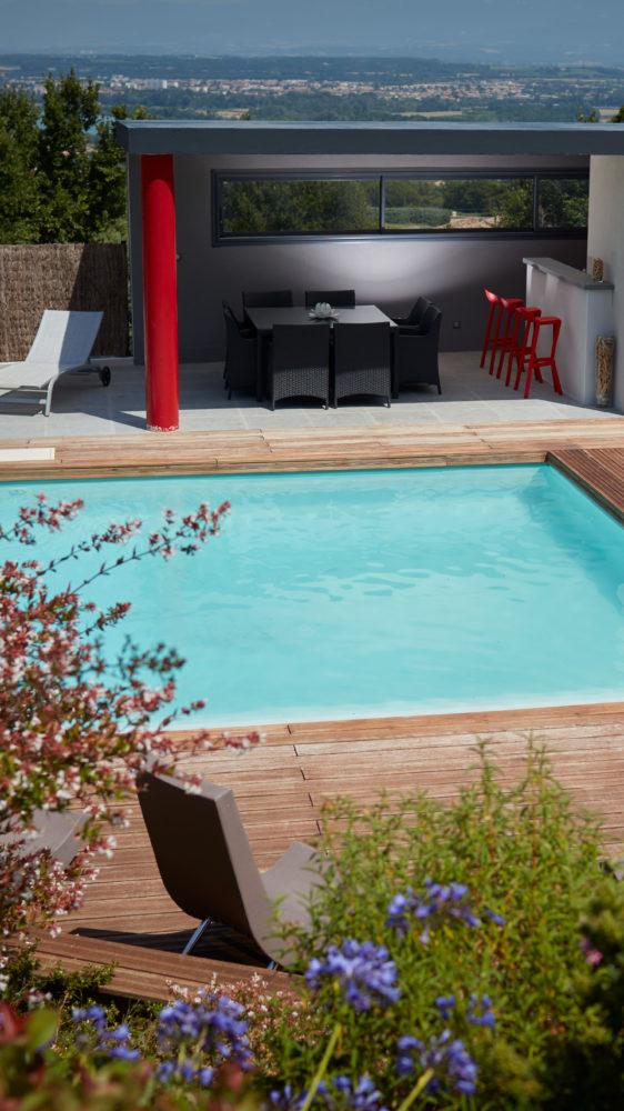 réalisation piscine c2s maçonnerie drôme