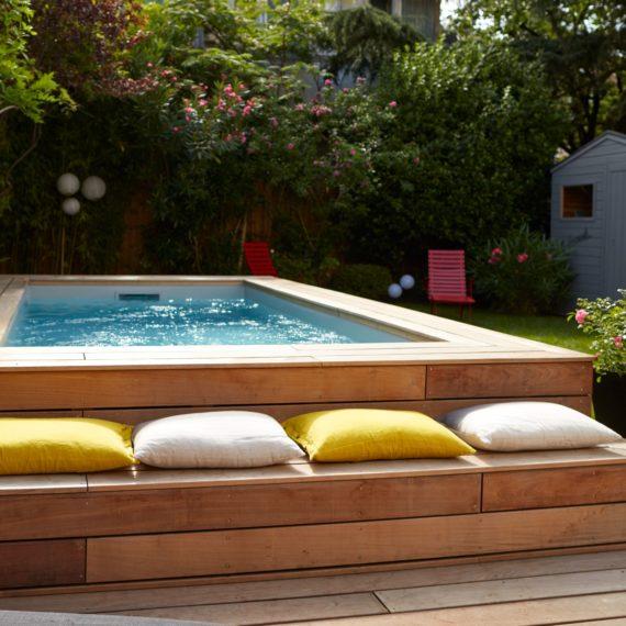 Piscine Pool House - C2S Maçonnerie