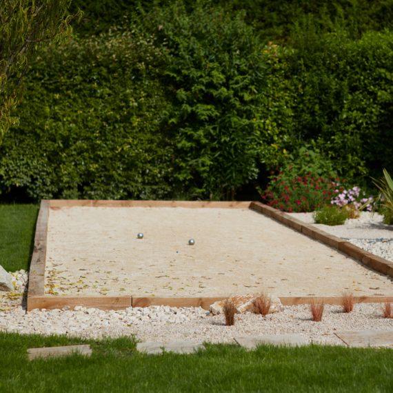 Terrain de Boules Jardiniste Concepteur