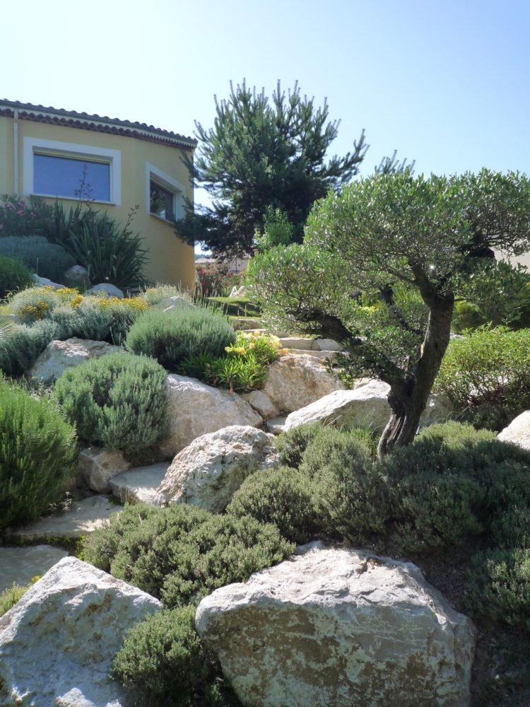 aménagement rocaille drôme-ardèche