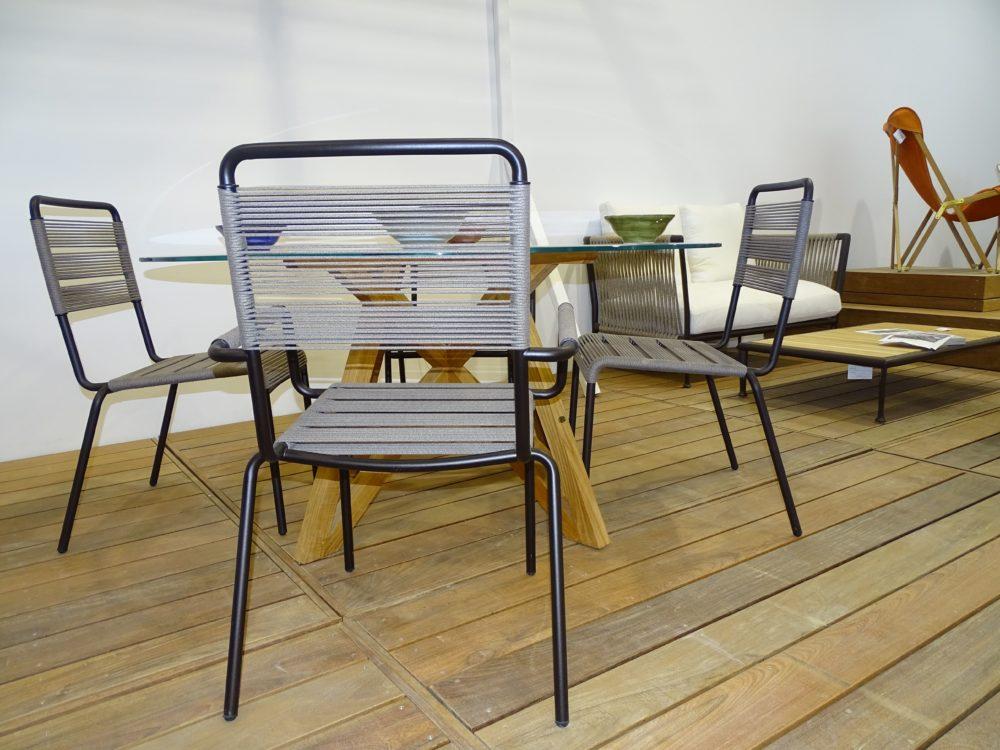 Mobilier Jardin Unopiu - Showroom Cédric Pierre Paysage