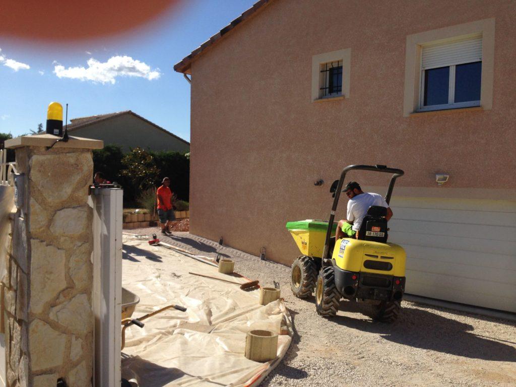 création jardin valence - cédric pierre paysage